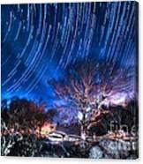 Star Trails On Acid Canvas Print