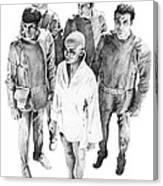 Star Trek - Meeting With V'ger Canvas Print