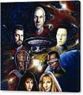 Star Trek Tng Canvas Print