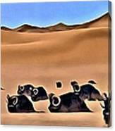 Star Wars Desert Animals Canvas Print