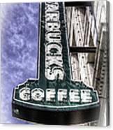 Starbucks - Ballard Canvas Print