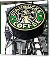 Starbucks Logo Canvas Print