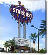 Stardust Sign Canvas Print