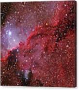 Starforming Emission Nebula Ngc 6188 Canvas Print