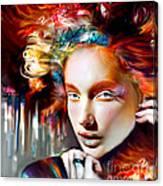 Stargirl I Bleed Color Canvas Print