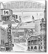Stark County Ohio Print - Canton Lives Canvas Print