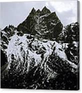 Stark Himalayas Canvas Print