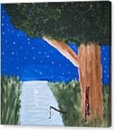 Starlight Fishing Canvas Print