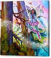 Starr Lynn Holly Berry Fairy Canvas Print