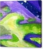 Starry Acid Trip Canvas Print