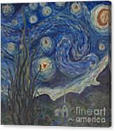 Starry Night Copy 8 Canvas Print