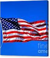 Stars And Stripes Forever Canvas Print