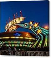 Starship 2000 Canvas Print
