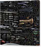 Starships... Canvas Print