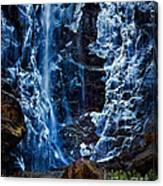 Start Of Spring Bridalvail Fall Canvas Print