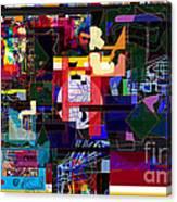 Start With Alef 7f Canvas Print