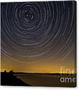 Startrails 3 Canvas Print