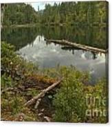 Starvation Lake - British Columbia Canvas Print