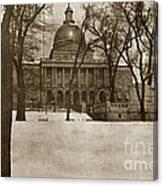 State Building Boston Massachusetts Circa 1900 Canvas Print
