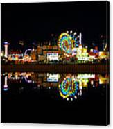 State Fair In Reflection Canvas Print