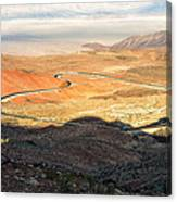 State Highway 190 Canvas Print