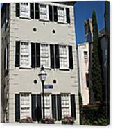 State Street - Charlestons French Quarter Canvas Print
