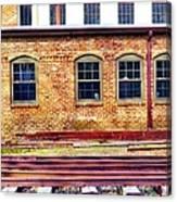Station House Canvas Print