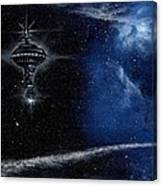 Station In The Stars Canvas Print