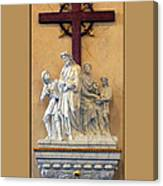 Station Of The Cross 01 Canvas Print