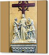 Station Of The Cross 10 Canvas Print