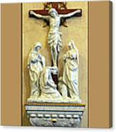 Station Of The Cross 12 Canvas Print