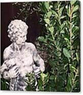 Statue 1 Canvas Print