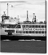 Statue Cruise Canvas Print