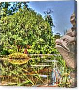 Statue In Brookgreen Gardens Canvas Print