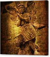 Statue Of Angel Canvas Print