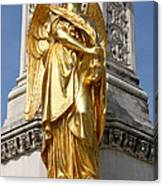 Statue Of Angel2 Canvas Print