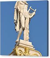 Statue Of Apollo Canvas Print