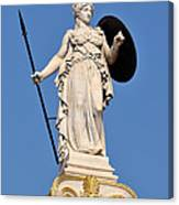 Statue Of Athena Canvas Print