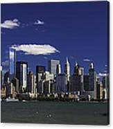 Statue Of Liberty Ferry 2 Canvas Print