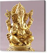 Statue Of Lord Ganesh Canvas Print