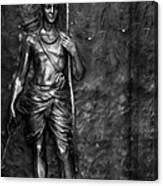 Statue Of Lord Sri Ram Canvas Print