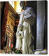 Statue Of St Stephen's Canvas Print