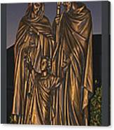 Statue Of The Holy Family  Canvas Print