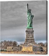 Staute Of Liberty Canvas Print