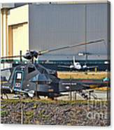 Stealth Air Attack Helicopter Canvas Print
