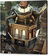 Steam City Canvas Print