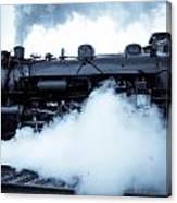Steam Engine 3254 Canvas Print