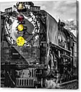 Steam Engine 844 Canvas Print