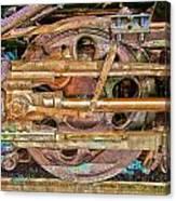 Steam Engine Linkage Canvas Print