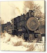 Steam Engine Number Two Canvas Print